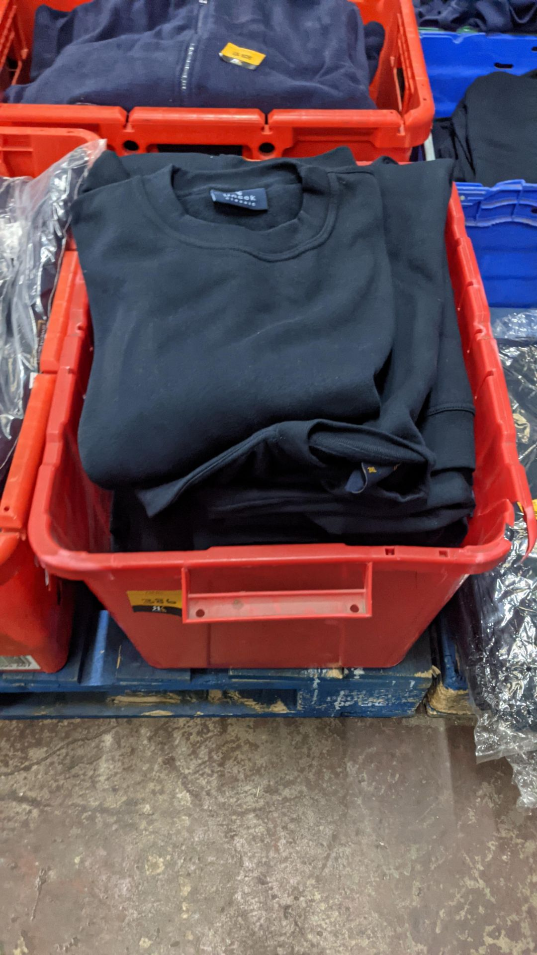 Approx 12 off navy sweatshirts - Image 2 of 5