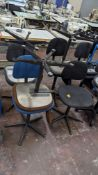 7 off assorted machinists chairs