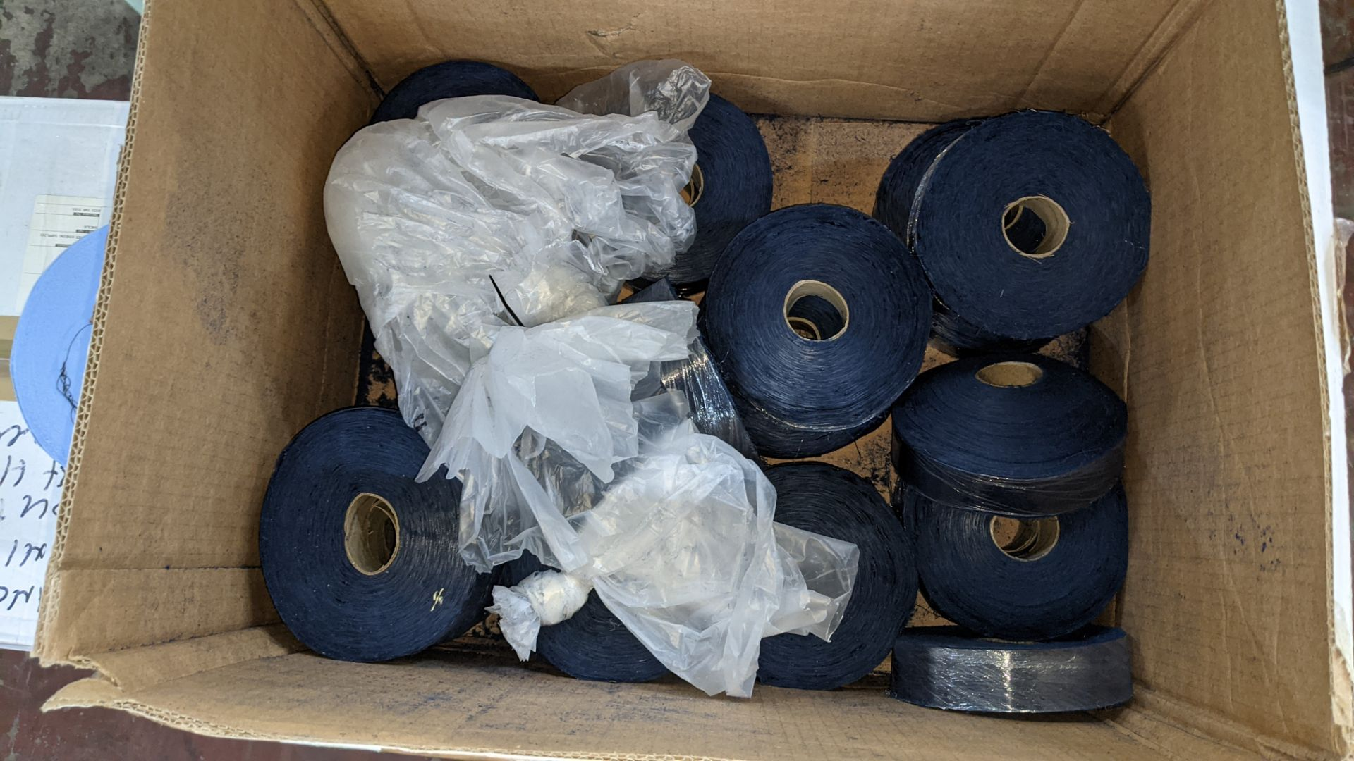 3 boxes/part boxes of blue fabric tape - Image 3 of 6