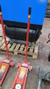 Clarke STRONG-ARM 2 ton trolley jack