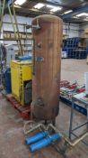 Compressor equipment comprising HPC Plusair SK19 rotary screw air compressor plus vertical welded ai