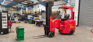2014 Flexi Euro AC 'bendy' electric Fork Lift Truck