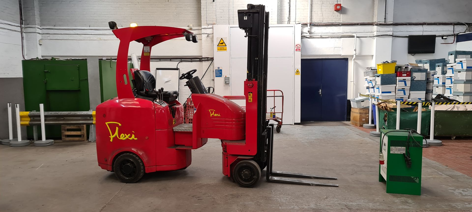 2014 Flexi Euro AC 'bendy' electric Fork Lift Truck - Image 3 of 29