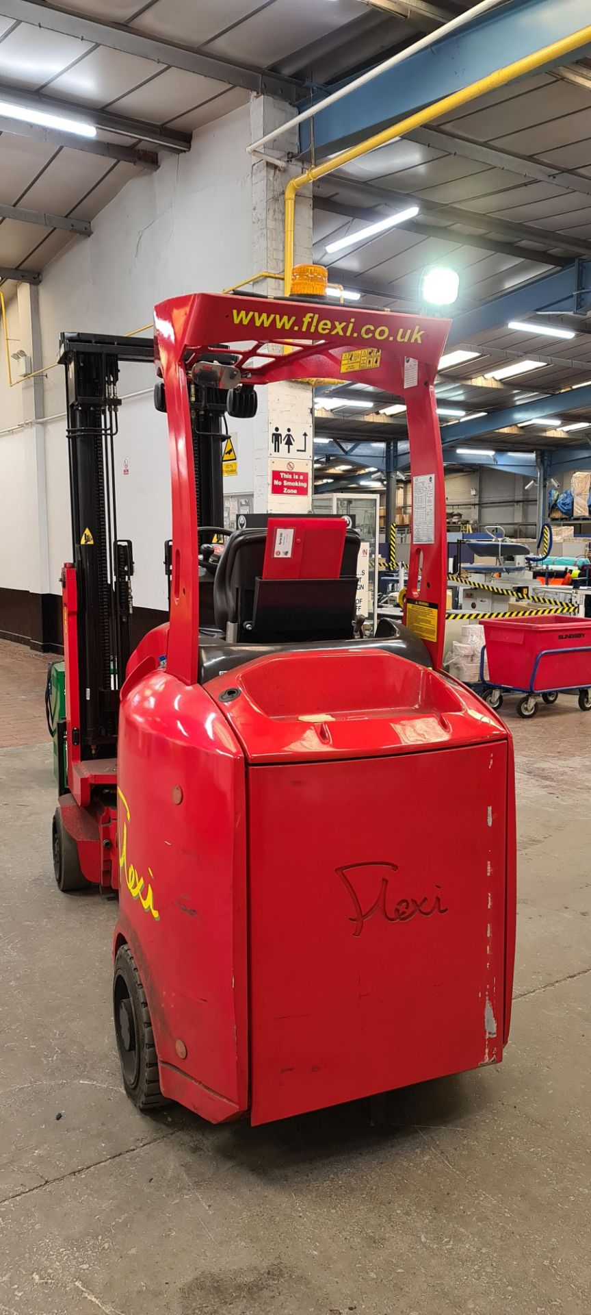 2014 Flexi Euro AC 'bendy' electric Fork Lift Truck - Image 5 of 29