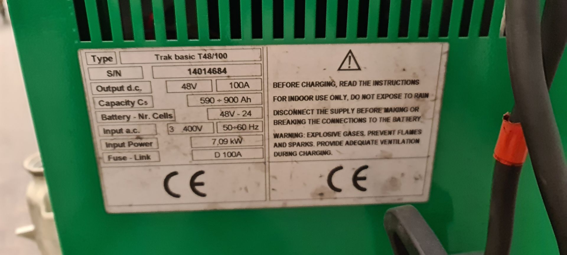2014 Flexi Euro AC 'bendy' electric Fork Lift Truck - Image 15 of 29