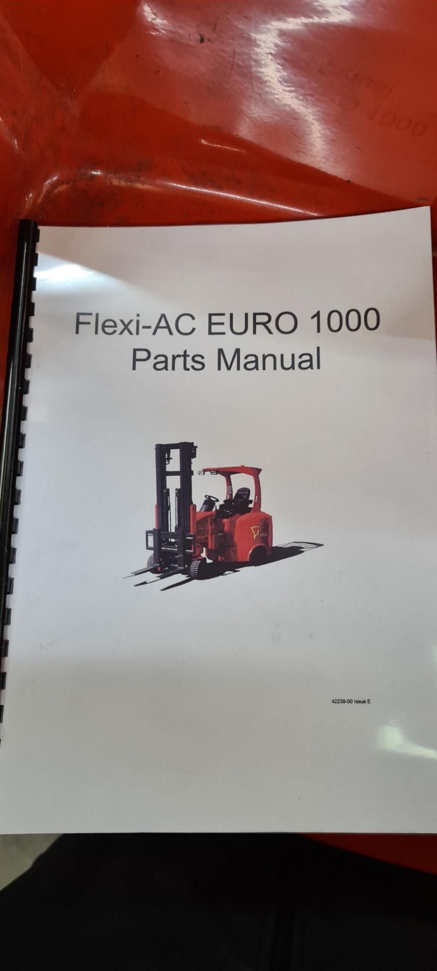 2014 Flexi Euro AC 'bendy' electric Fork Lift Truck - Image 28 of 29