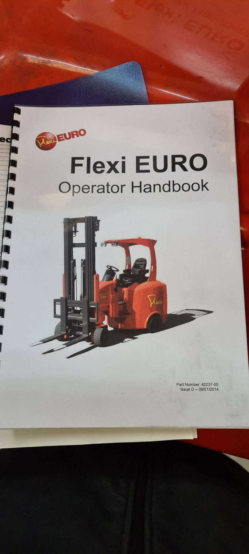 2014 Flexi Euro AC 'bendy' electric Fork Lift Truck - Image 27 of 29