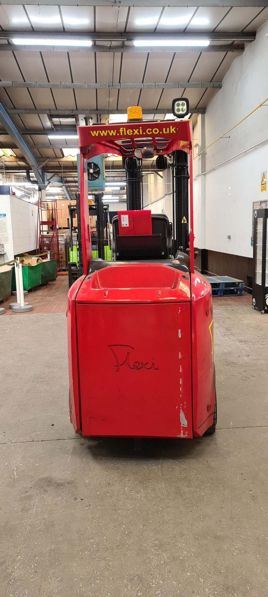 2014 Flexi Euro AC 'bendy' electric Fork Lift Truck - Image 4 of 29