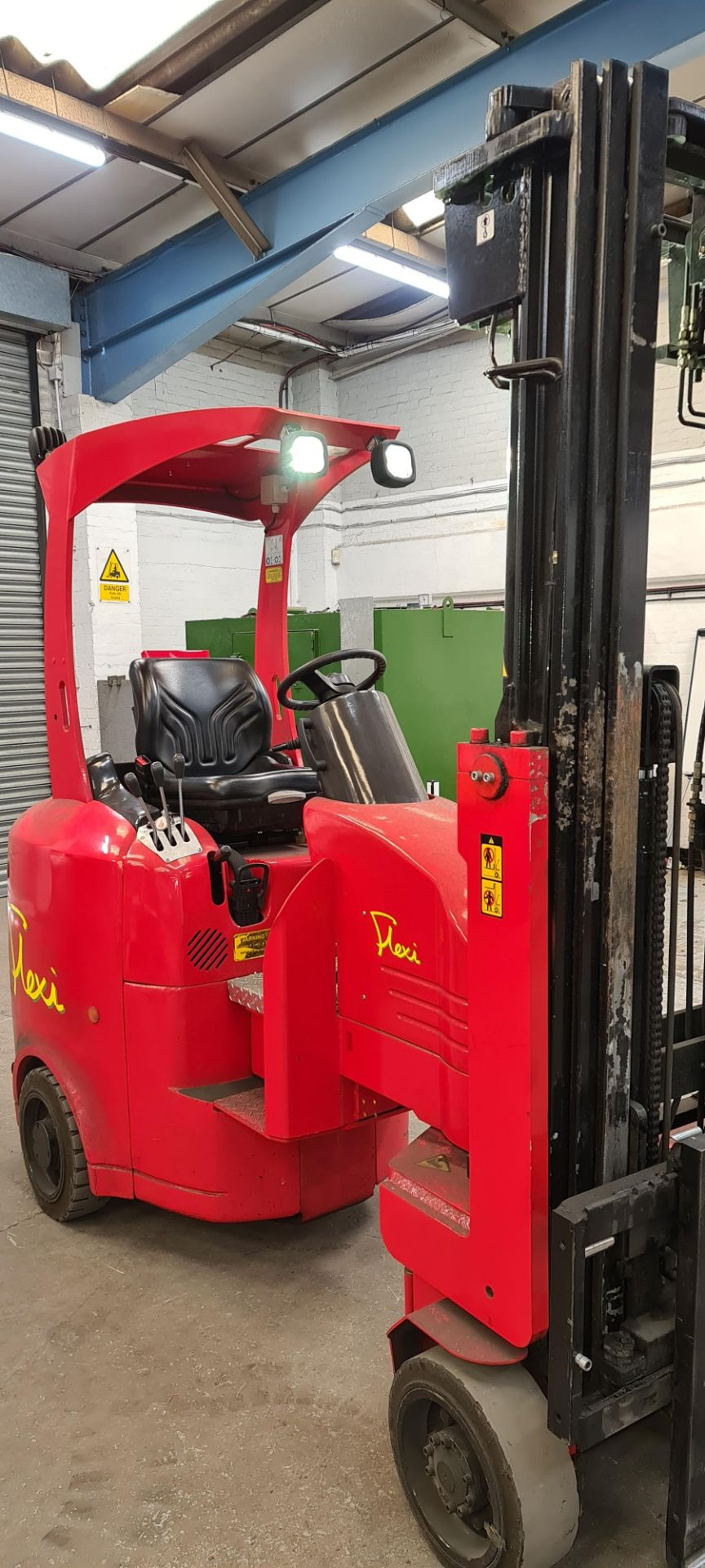 2014 Flexi Euro AC 'bendy' electric Fork Lift Truck - Image 6 of 29