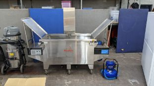 Large Stainless Steel Ultrasonic Cleaning Tank: Morantz Super Mighty One