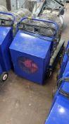Blue mobile dryer