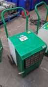 Ebac Industrial Products Limited Kompact industrial dehumidifier. 9,529 recorded hours