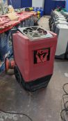 Phoenix R200 dehumidifier. Using BYPASS Technology. 3,267 recorded hours