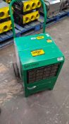 Ebac Industrial Products Limited Kompact industrial dehumidifier. 9,537 recorded hours