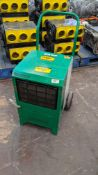 Ebac Industrial Products Limited Kompact industrial dehumidifier. 10,597 recorded hours