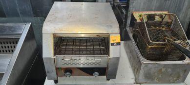 Model TT-300 electric conveyor toaster