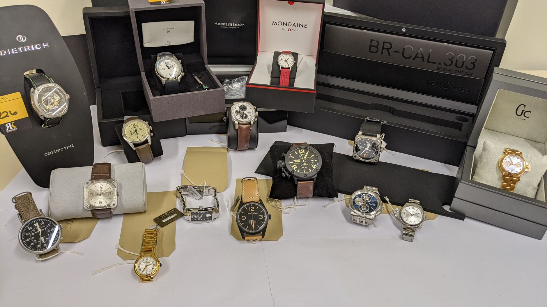 INSOLVENCY JEWELLERY SALE: Watches, Jewellery, Tools, Chattels & More. NO RESERVES. Includes Bell & Ross,U-Boat, Maurice Lacroix & more
