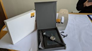 Dietrich Organic Time Watch model OT-3. RRP £1,150. Includes Dietrich branded display stand and bran