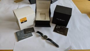 Maurice Lacroix automatic watch with display back marked LC6067 on the rear. Water resistant 30M. I