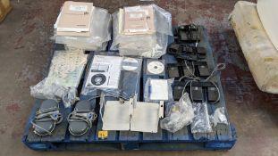 Quantity of Toshiba medical equipment manuals plus foot pedal