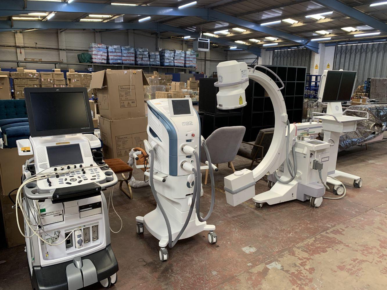 Hospital, Dental & Medical Aesthetic Equipment PLUS Hand Sanitiser (travel size)