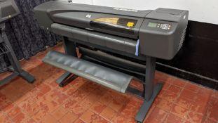 HP DesignJet 800 wide format printer, factory model C7780B