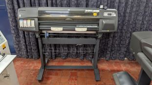 HP DesignJet 1050c plus wide format printer, factory model C6074B