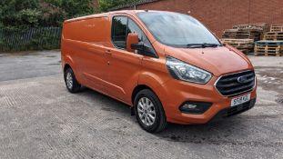 2019 Ford Transit Custom 300 L2 van, Orange Glow. High spec: Heated seats, air con, parking sensors