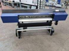 2020 Roland TrueVIS VG2-540 wide format printer with TUC-4 Take Up System