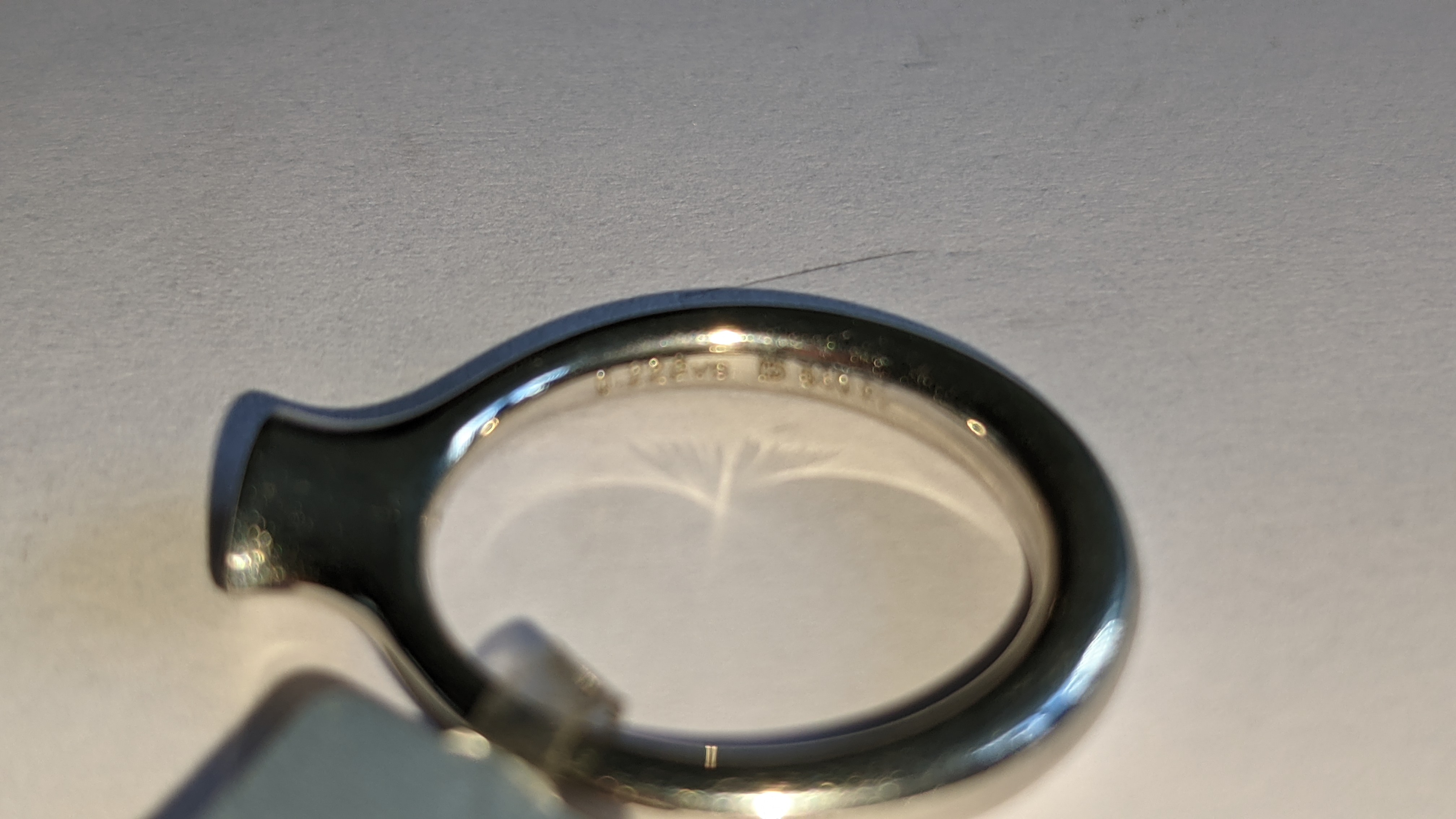 Platinum 950 & diamond ring with 0.22ct of G/VS diamond. RRP £2,502 - Image 10 of 14