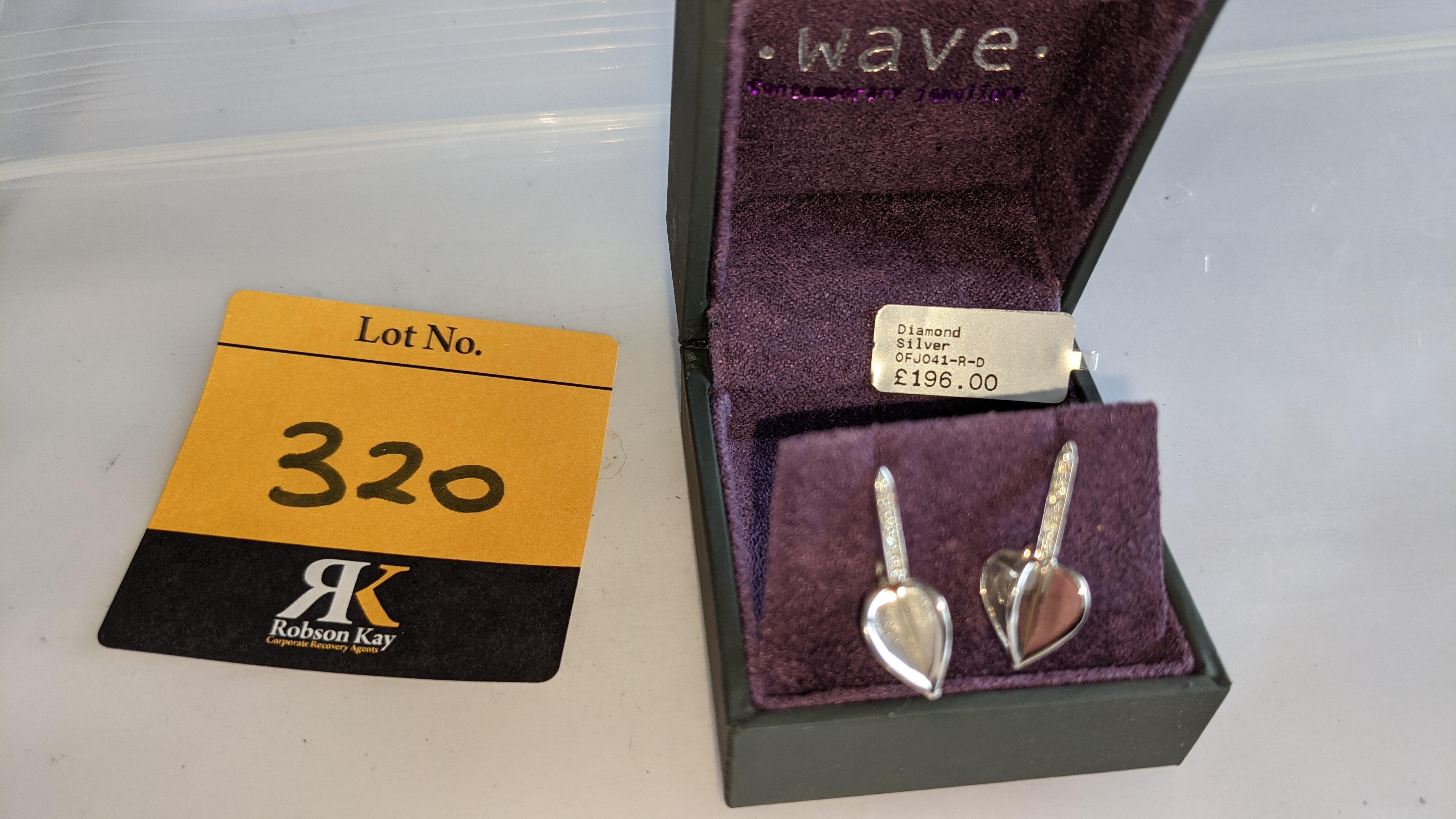 Pair of earrings, retail price £196 - Image 10 of 11