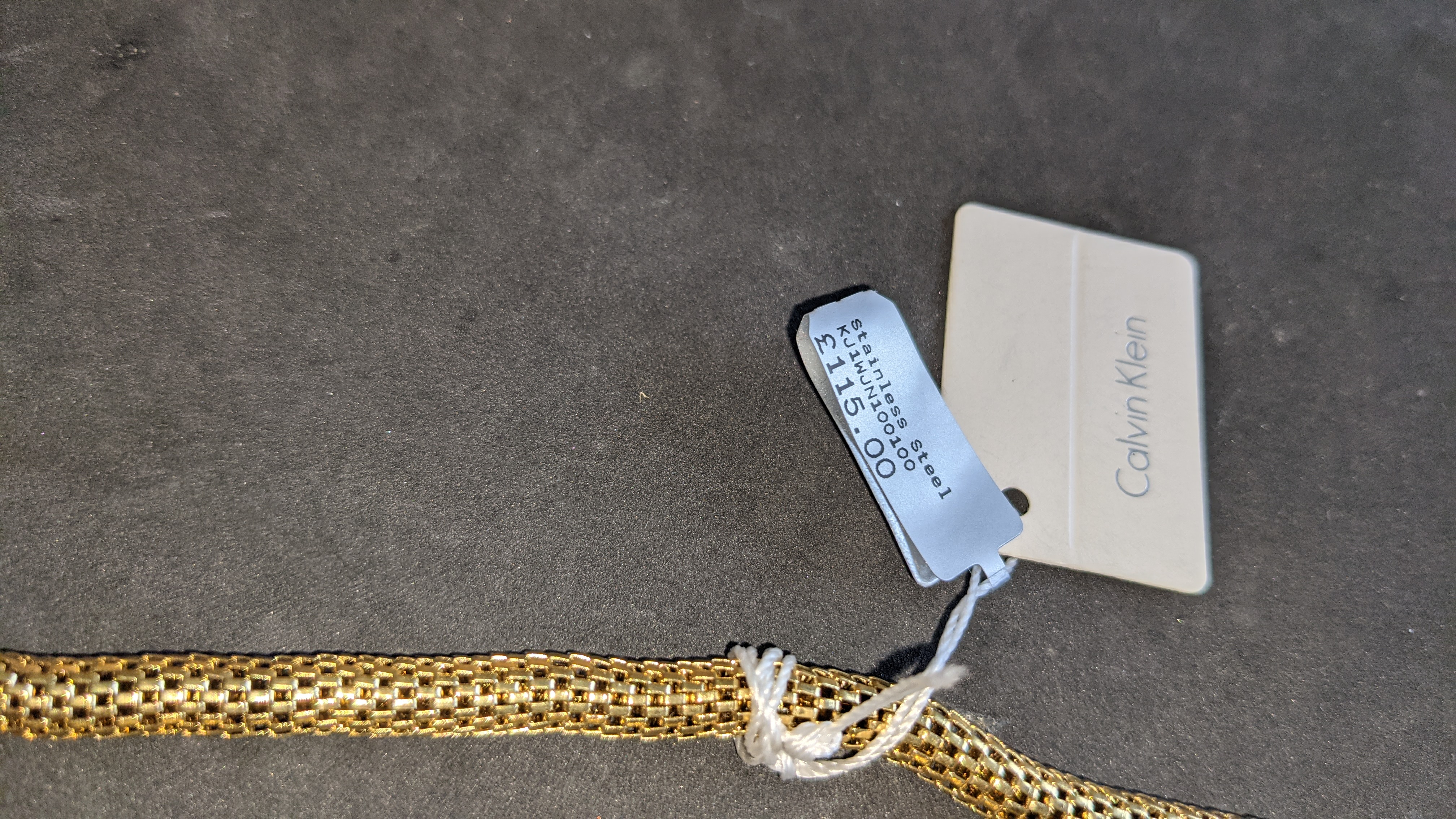 3 pieces of Calvin Klein jewellery comprising 2 off long necklaces each with an RRP of £115 plus two - Image 8 of 13