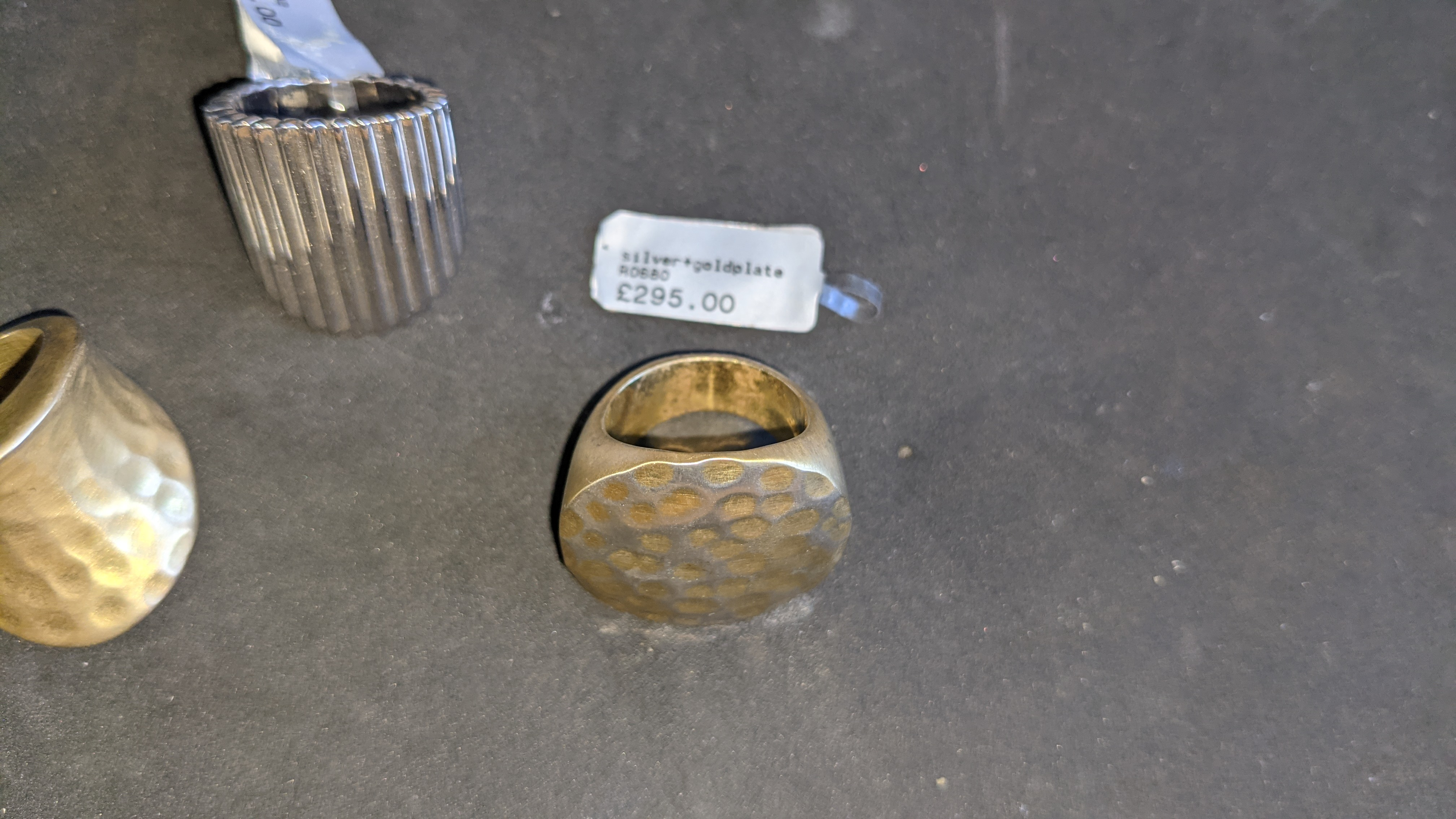 3 off large unusually shaped rings with RRPs of £205 - £295 per ring. Total RRP is £795 - Image 6 of 14