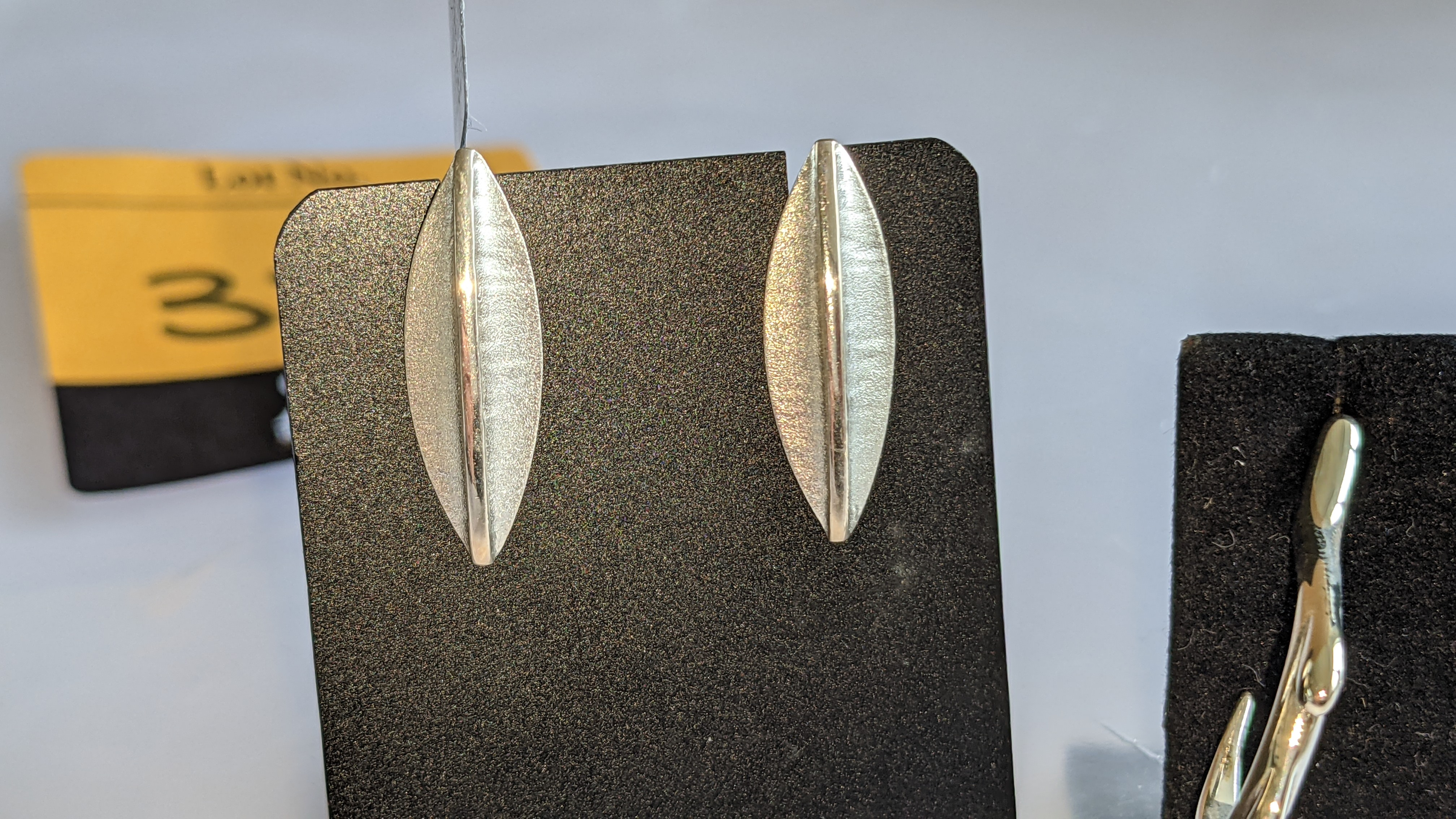 3 assorted pairs of earrings, each with a retail price of £62 - £70 per pair, total RRP £197 - Image 4 of 9