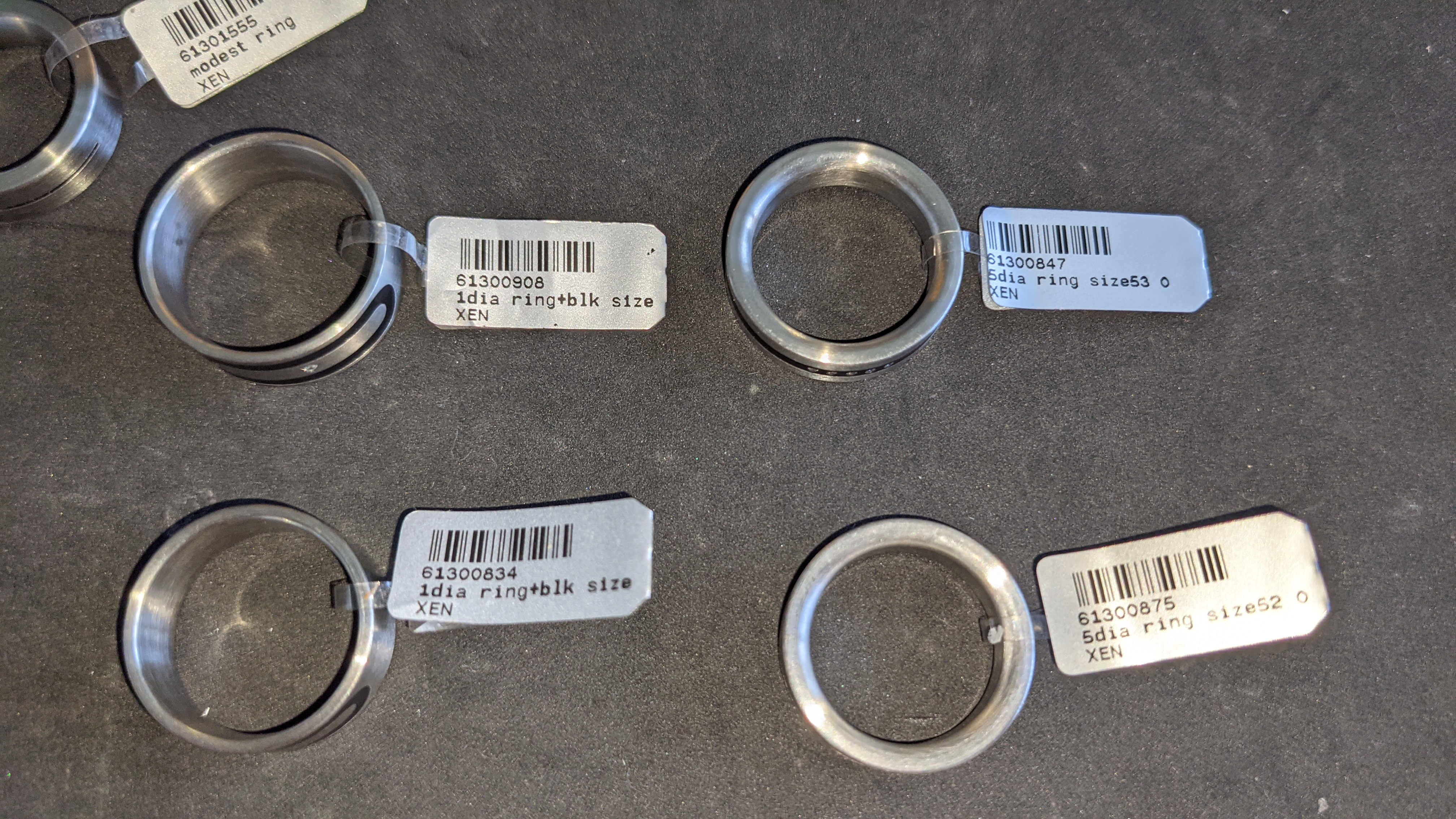7 off assorted stainless steel & diamond rings. RRPs from £110 - £170. Total RRP £1,028 - Image 11 of 12