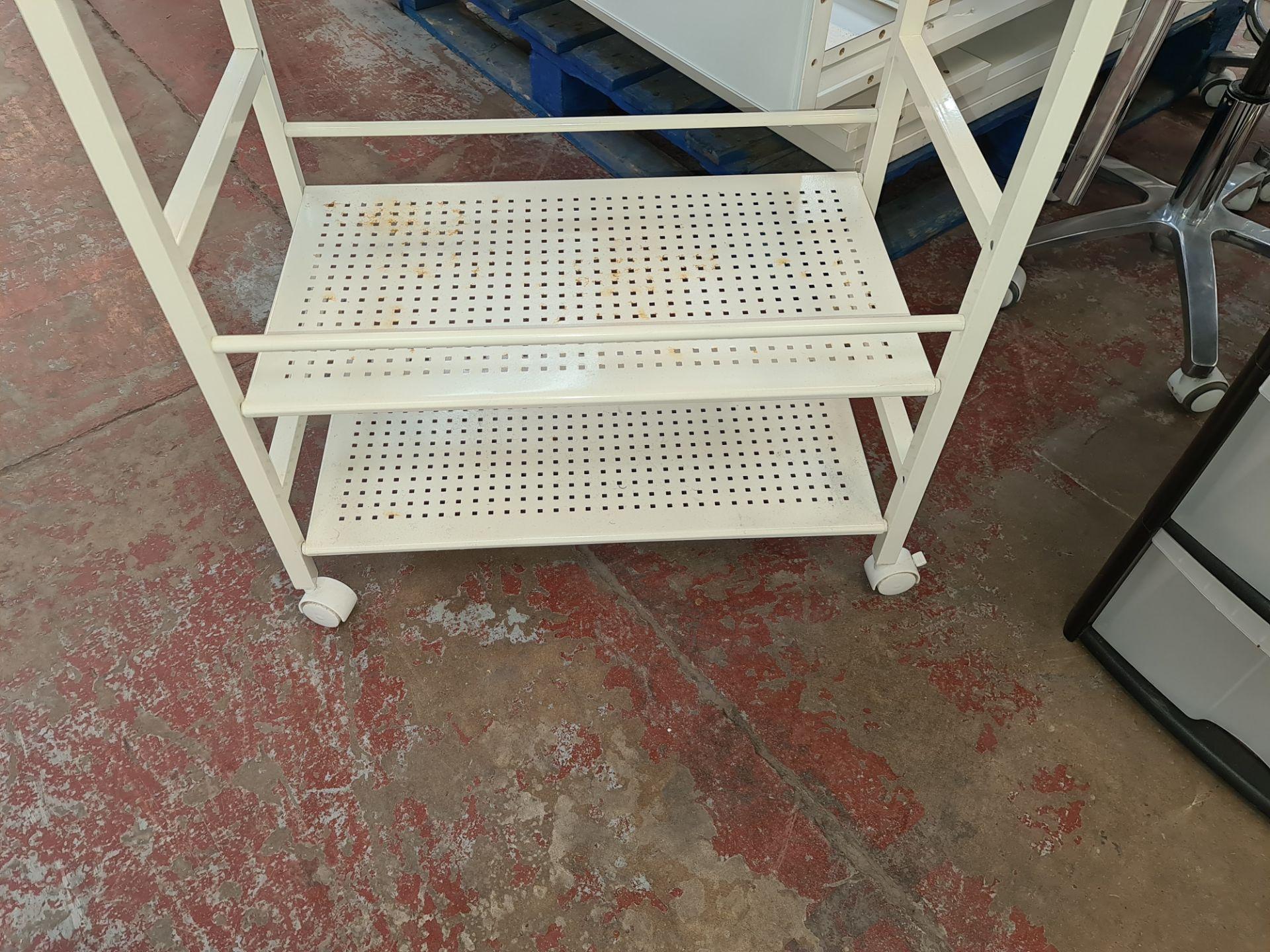 Pair of trolleys/storage units - Image 3 of 6
