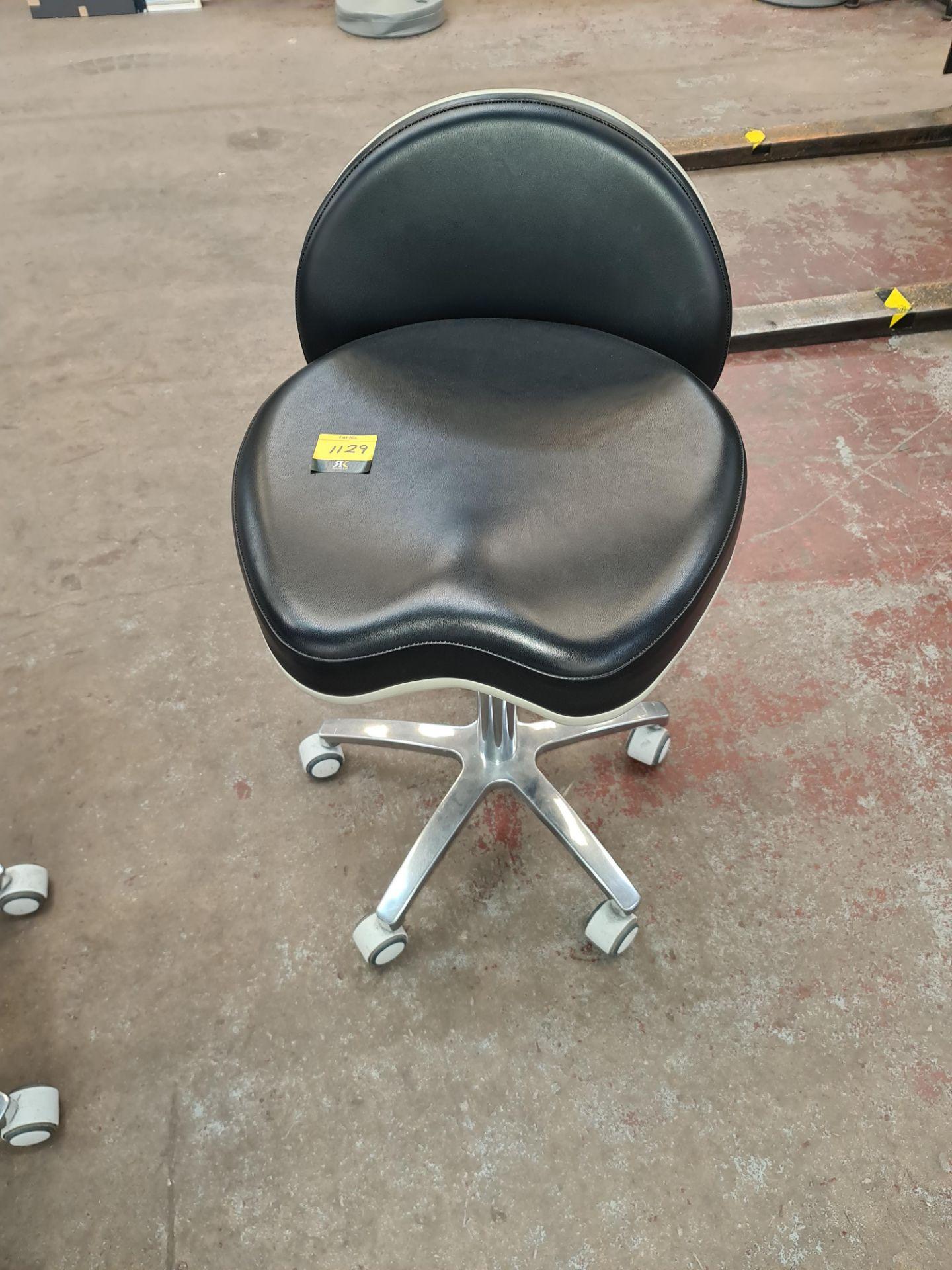 Murray multi-adjustable dental stool