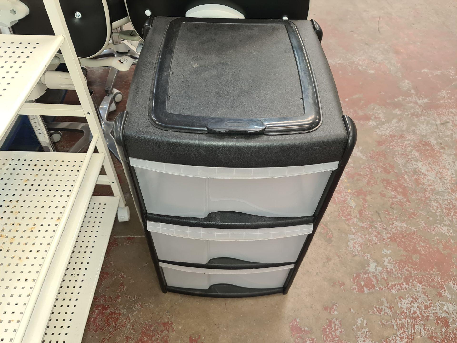 Pair of trolleys/storage units - Image 4 of 6