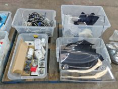 The contents of 4 crates of assorted miscellaneous items