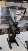 2019 Mahlkoenig model EK43 commercial coffee grinder, purchased in mid-2019 for approx. £2,000 plus