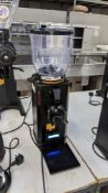 2017 Anfim model SPii titanium espresso grinder with digital display. Understood to have been purcha