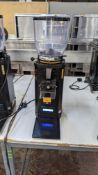 2019 Anfim model SPii titanium espresso grinder with digital display. Understood to have been purcha