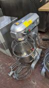 Buffalo model GL191 heavy-duty commercial mixer including removable bowl, paddle & whisk