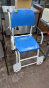 Mobile chair with built-in Marsden digital scales