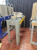 Multi-bag dust extractor NB. This extractor was used with lot 25, the panel saw