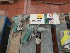 2 off Bosch glue guns including small quantity of glue