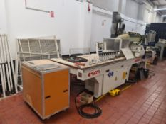 2008 SCM Pratix N12 CNC router including tool changers, PC & software. Also includes light guards, f