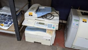 Ricoh Aficio MP171SPF desktop multifunction copier/scanner/fax/printer