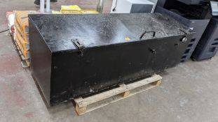 Large lockable toolchest, approx. 1950mm x 620mm x 620mm, suitable for locking with padlocks