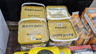 8 off 12.5kg tubs of EASYJoint buff sand all weather paving joint compound